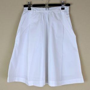 Anthropologie | Odille White Skirt size 0